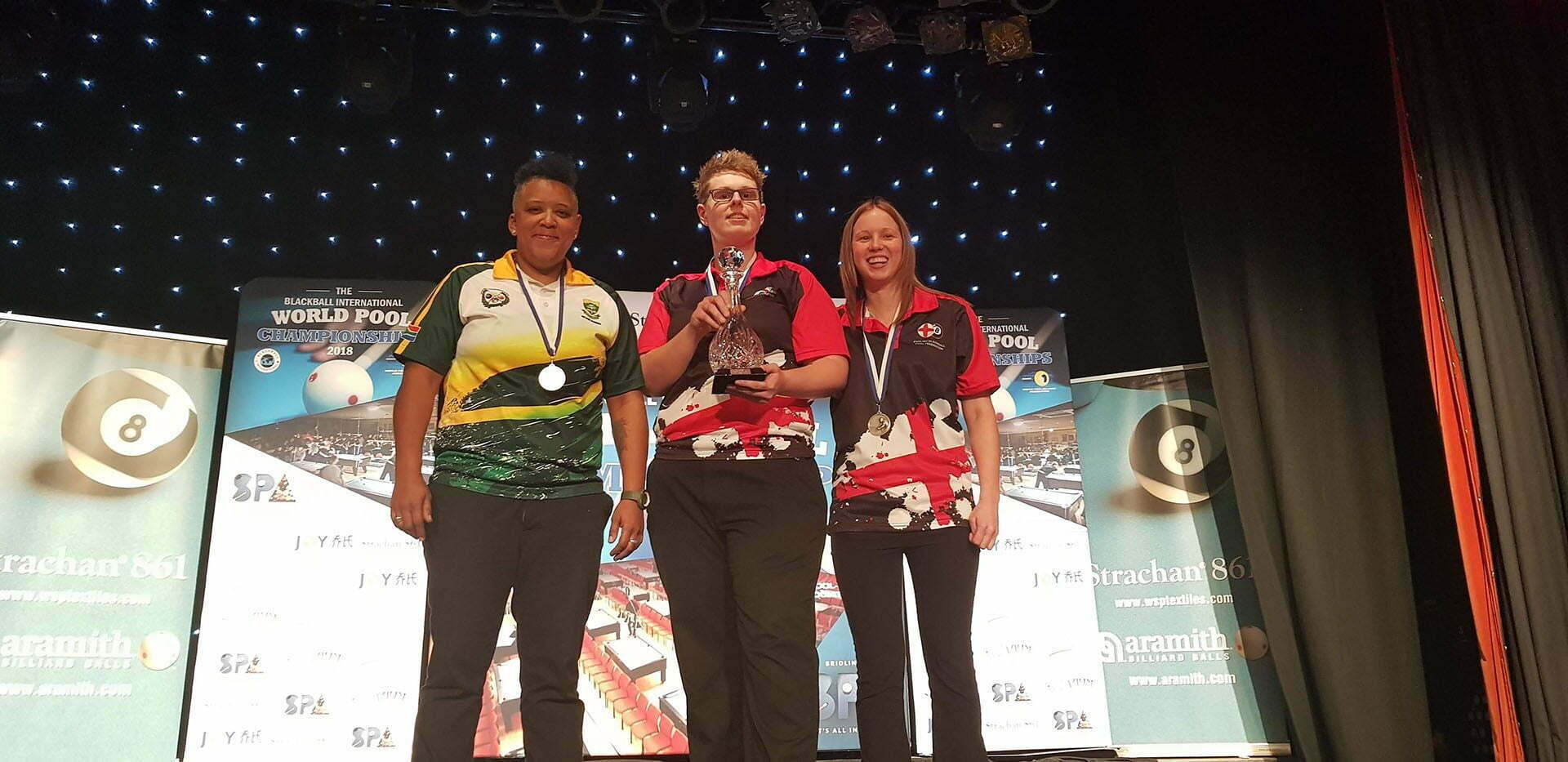 Ash is England Ladies's World Pool Champion